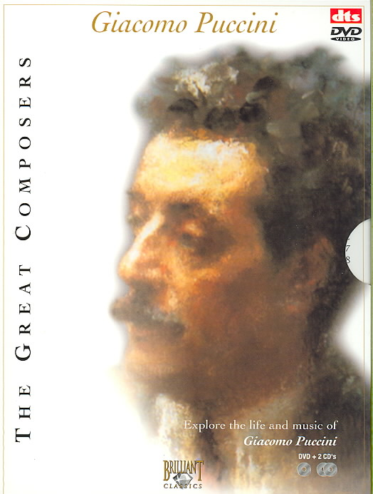 GREAT COMPOSERS:GIACOMO PUCCINI BY RAHBARI,ALEXANDER (DVD)